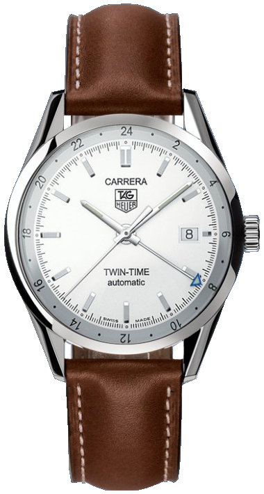 Tag Heuer Carrera Automatic Twin Time Men's Watch WV2116.FC6203