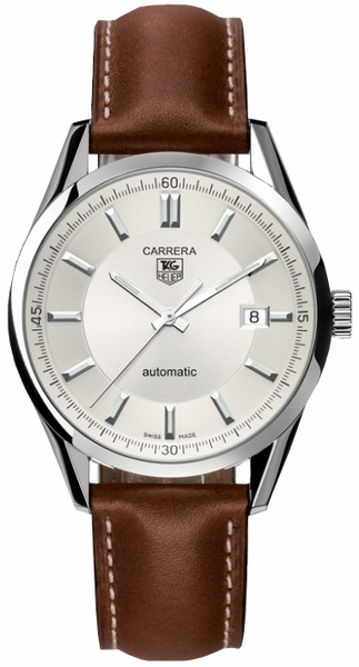 Tag Heuer Carrera Silver Dial Men's Watch WV211A.FC6203
