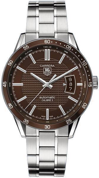 Tag Heuer Carrera Brown Dial Men's Watch WV211N.BA0787