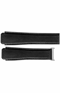 Tag Heuer Connected Black Leather Strap with Rubber Lining 11FT6079
