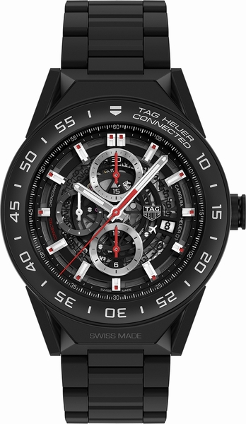 Tag Heuer Connected Black Titanium Men's Watch SBF8A8013.80BH0933
