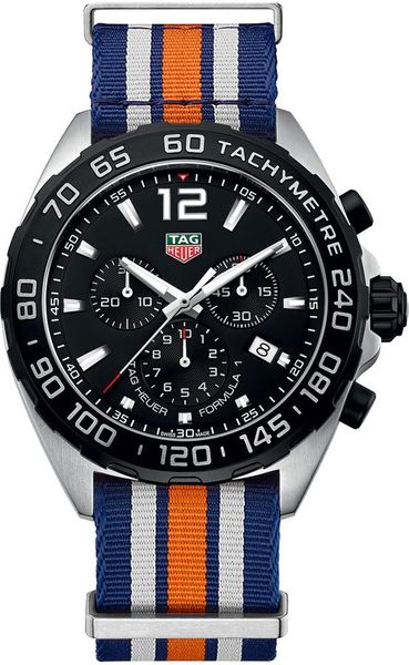 Tag Heuer Formula 1 43mm Steel Men's Watch CAZ1010.FC8196