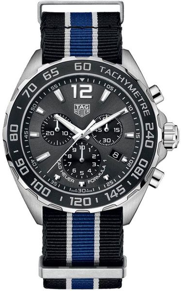 Tag Heuer Formula 1 Anthracite Grey Dial Men's Watch CAZ1011.FC8197