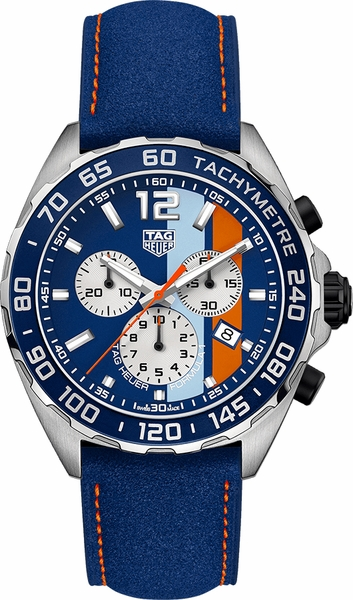 Tag Heuer Formula 1 Gulf Racing Limited Edition Watch CAZ101N.FC8243
