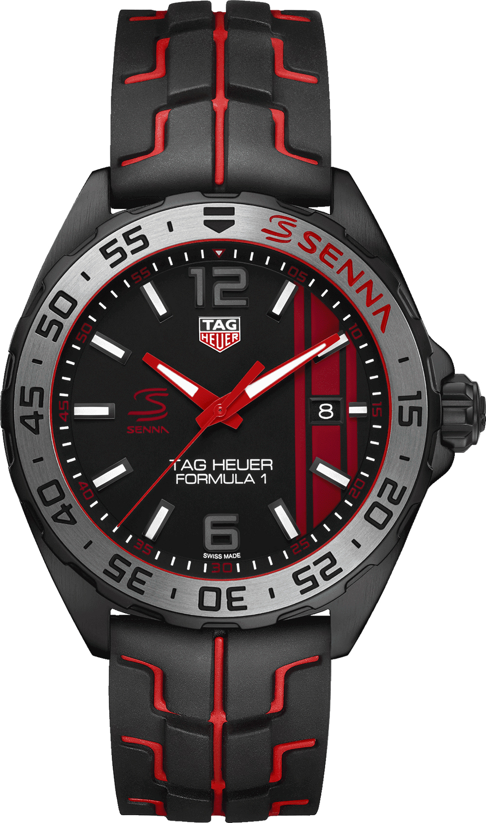 waz1014 ft8027 tag heuer formula 1 senna edition men 39 s watch. Black Bedroom Furniture Sets. Home Design Ideas