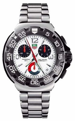 Tag Heuer Formula 1 White Dial Men S Watch Cac1111 Ba0850
