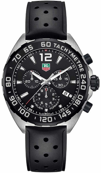 Tag Heuer Formula 1 43mm Men's Chronograph Watch CAZ1010.FT8024