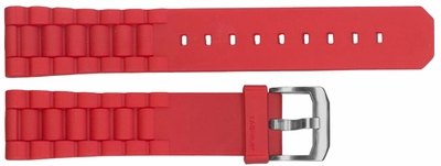 Tag Heuer Formula 1 20mm Red Rubber Strap BT0706