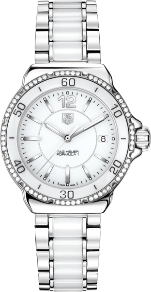 Tag Heuer Formula 1 White Dial Women's Watch WAH1213.BA0861