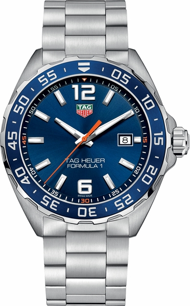 Tag Heuer Formula 1 200M Blue Dial Men's Watch WAZ1010.BA0842