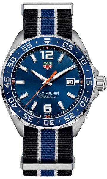 Tag Heuer Formula 1 43mm 200M Men's Watch WAZ1010.FC8197