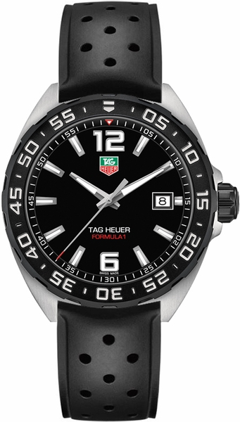 Tag Heuer Formula 1 Quartz 200M 41mm Men's Watch WAZ1110.FT8023