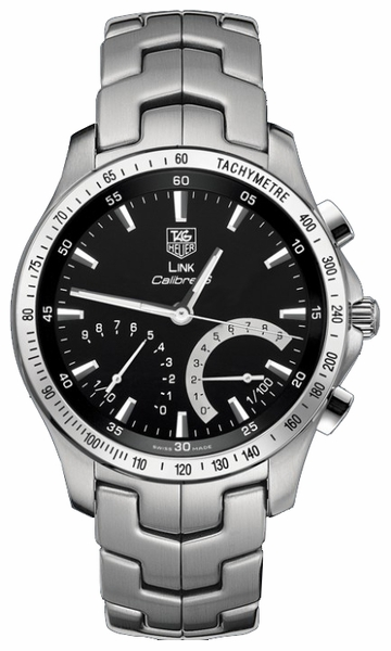 Tag Heuer Link Black Dial Men's Watch CJF7110.BA0592