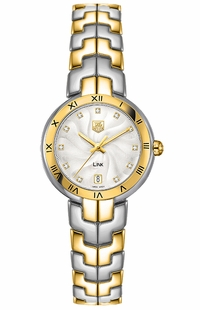 Tag Heuer Link Diamond Two-Tone Women's Watch WAT1350.BB0957