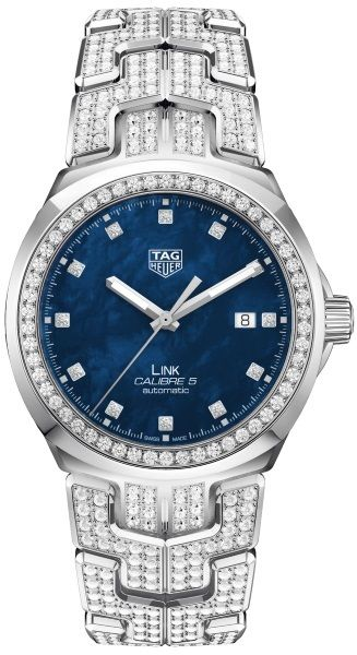 Tag Heuer Link Caliber 5 Diamond Watch WBC2116.BA0660