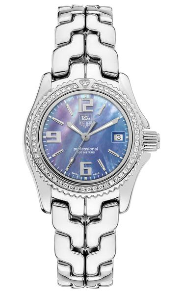 Tag Heuer Link Purple Mother of Pearl Dial Women's Watch WT131D.BA0558
