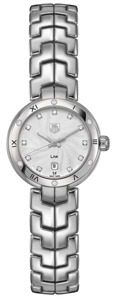 Tag Heuer Link Ladies Diamond Watch WAT1413.BA0954