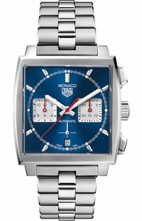 Tag Heuer Monaco Automatic Blue Dial Men's Watch CBL2111.BA0644