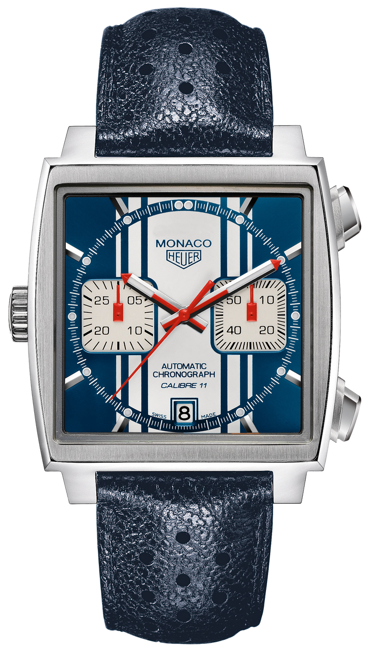 Limited Edition Birthday Collection: CAW211D.FC6300 TAG Heuer Monaco Limited Edition Steve