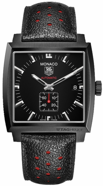 Tag Heuer Monaco Calibre 6 Men's Black Dial Watch WW2119.FC6338