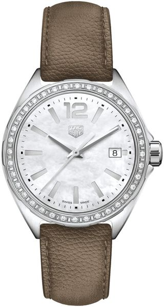 TAG Heuer Formula 1 35mm Women's Taupe Strap Watch WBJ131A.FC8255