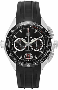Tag Heuer SLR Mercedes Benz Black Dial Men's Watch CAG2010.FT6013