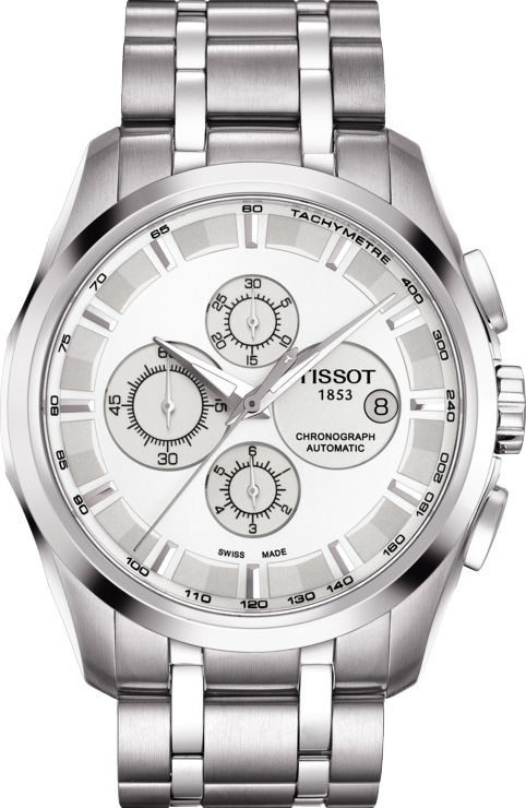 Best Automatic Watches >> T0356271103100 New Tissot Couturier Men's Watch