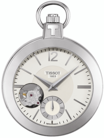 Tissot Pocket Mechanical Skeleton T853.405.19.267.00