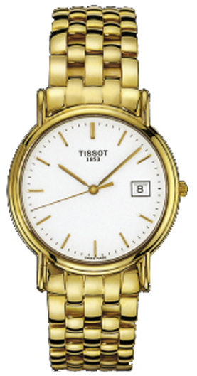 d47dedefe T73341311 Tissot T-Gold Carson Solid Gold Automatic Watch