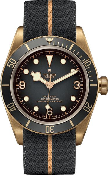 Tudor Black Bay Bronze Slate Grey Dial Men's Watch M79250BA-0002