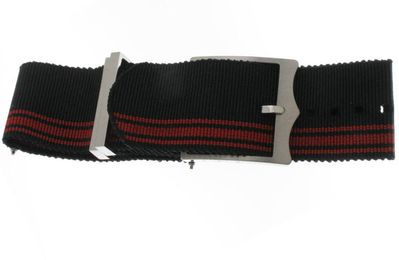 Tudor Black/Red Nato Strap 4234941