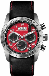Tudor Fastrider Chronograph Red Dial Men's Watch M42000D-0001