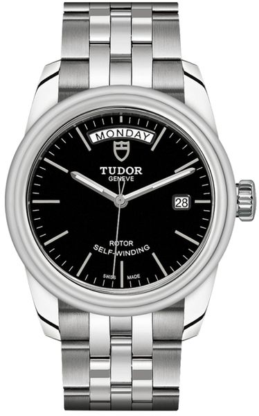 Tudor Glamour Day & Date Black Dial Men's Watch M56000-0007