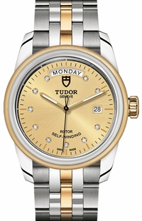 Tudor Glamour Day & Date M56003-0006
