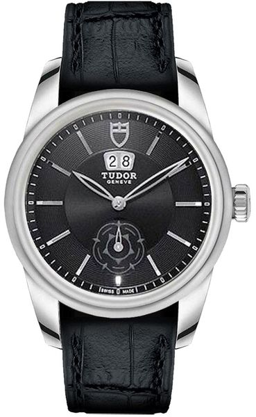 Tudor Glamour Double Date Automatic Men's Watch M57000-Black