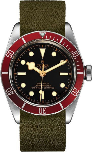 Tudor Heritage Black Bay Black Dial Steel Men's Watch M79230R-0004