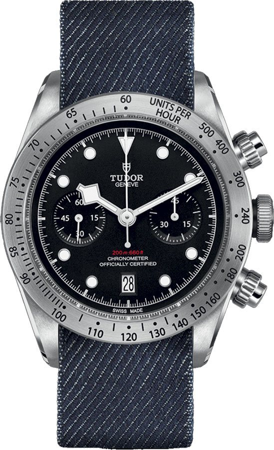 Tudor Heritage Black Bay Chrono M79350-0003