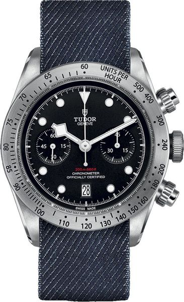 Tudor Heritage Black Bay Chrono Automatic Men's Casual Watch  M79350-0003