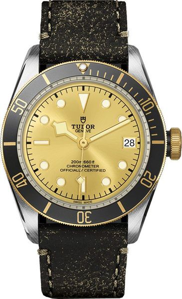 Tudor Heritage Black Bay 41mm Champagne Dial Men's Watch M79733N-0003