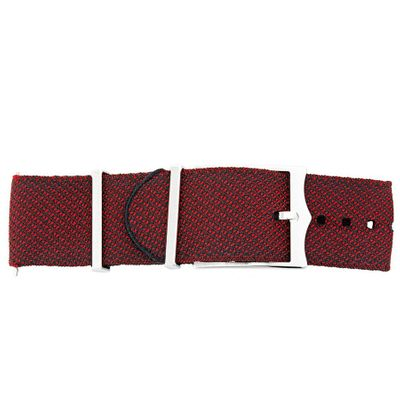 Tudor Heritage Black Bay 22mm Red Fabric Nato Strap 4324439