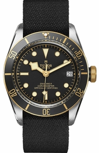 Tudor Heritage Black Bay S&G Black Dial Men's Watch M79733N-0001-FB1