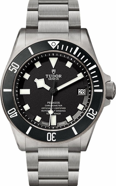 Tudor Pelagos Black Dial Men's Diver Watch M25600TN-0001