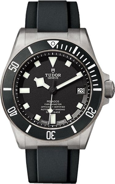 Tudor Pelagos Black Dial Men's Divers Watch M25600TN-0002