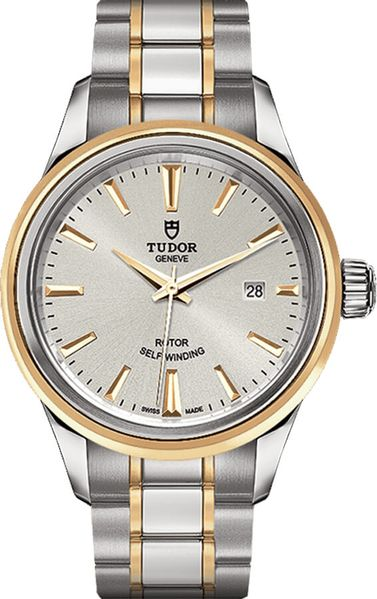 Tudor Style 28mm Silver Dial Women's Watch M12103-0002