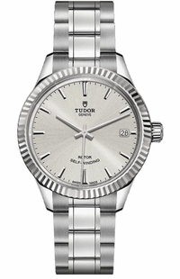 Tudor Style Silver Dial 34mm Women's Watch M12310-0001