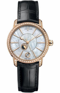 Ulysse Nardin Classico Luna Diamonds Women's Watch 8296-123BC-2/91