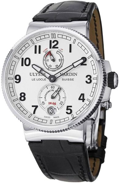 Ulysse Nardin Marine Chronometer Manufacture Men's Watch 1183-126/61