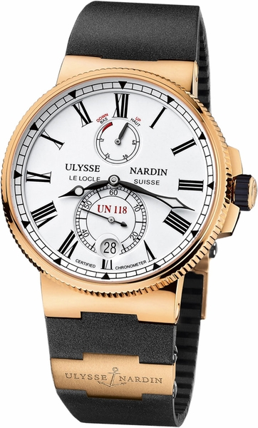 Ulysse Nardin Marine Chronometer Manufacture Limited Edition Men's Watch 1186-122-3/40