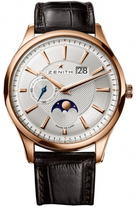 9d299a13330 18.2140.691 02.C498 Zenith Captain Moonphase Mens Automatic Rose ...