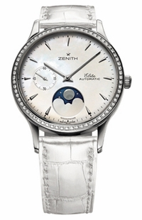 Zenith Class Moonphase Lady 16.1225.692/80.C664